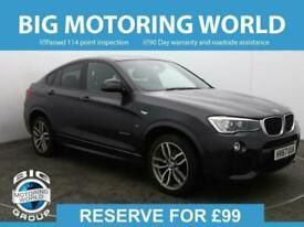 image for 2017 BMW X4 XDRIVE20D M SPORT Auto Coupe Diesel Automatic