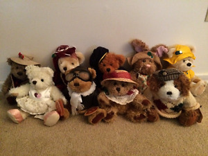 """Complete Plush """"Brass Button Collection"""""""