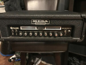 MESA BOOGIE BIG BLOCK 750 bass head w/ case