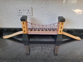 Lights and Sounds Suspension Bridge for wooden train track Brio Thomas