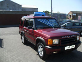 Land Rover Discovery 2.5Td5 ( 7 st ) auto 2000 Td5 GS (7 seat) AUTOMATIC