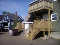 FENCE DECKS SIDING ROOFING(FREE ON SITE QUOTES). 801-4202 OFFICE