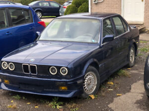 1989 BMW 3 series project