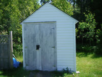 Shed to be moved by buyer