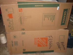 7 - HEAVY DUTY MOVING PACKING BOXES