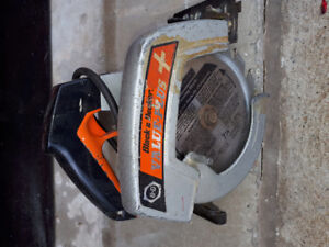Black and Decker skill saw / power sander / dirt buster