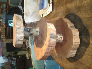 Rustic Hand Crafted Wooden Cupcake Stand