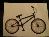 Stolen Gold and black GTWise BMX