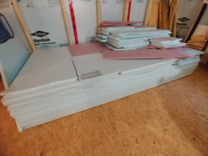Dow Cladmate 4-ft x 8-ft Extruded Polystyrene Insulation
