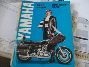 Mint condition 1979 YAMAHA MOTORCYCLE ACESS BROCHURE   RARE!