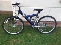 Apollo Excel Full Suspension Mountain Bike