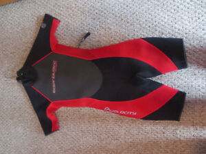 Body Glove Wetsuit Size 10 Youth Black and red