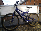 Sabre full suspension mtb with f&r disk brakes