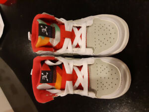 Nike Hare Air Jordan sneakers for toddler boy/girl size 6C
