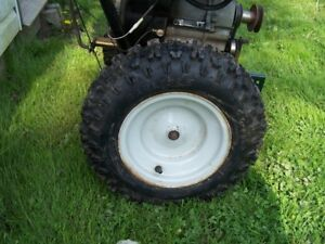 SNOW BLOWER TIRES AND RIMS