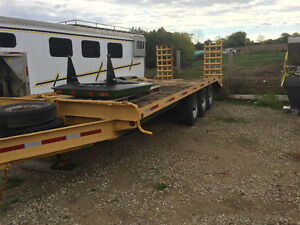 Tri Axle Trailer with Ramps