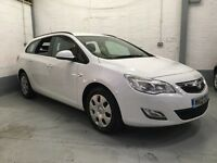 12 Vauxhall Astra 1.3 Cdti estate low mileage be quick!!!!