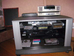 TV AND ELECTRONICS STAND - NEW PRICE