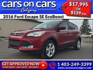 2016 Ford Escape SE AWD EcoBoost w/BackUp Cam, Satellite Radio $