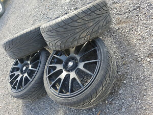 Tires and rims 215 35 18
