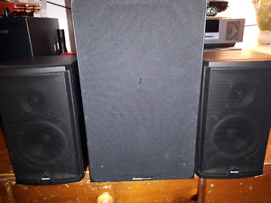 3 Boston Acoustics Speakers.
