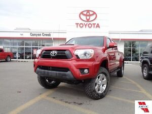 "2015 Toyota Tacoma LIFTED! 4x4 DBL CAB TRD ONE OWNER 3"" LIFT KIT"