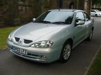 2002 Renault Megane 1.6 16V Fidji 2dr 2 door Coupe