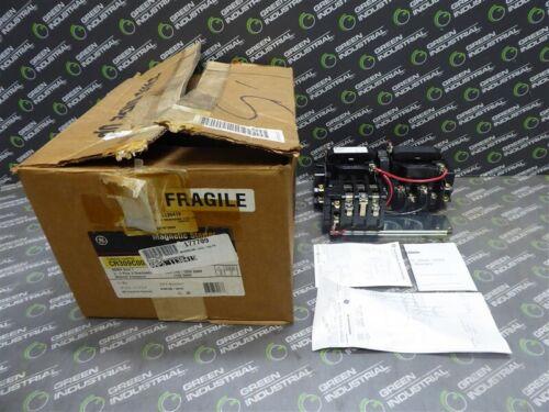 NEW General Electric CR309C002 Reversing Motor Starter NEMA Size 1 120V Coil