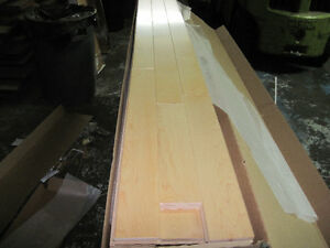 "SOLID MAPLE NATURAL 3 1/4"" BEAUTIFUL FLOORING West Island Greater Montréal image 2"