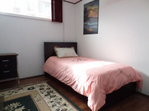 GREAT FURNISHED RENOVATED BASEMENT UNIT with PRIVATE WASHROOM+SH