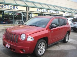 2010 Jeep Compass, 4x4, Low Km, North Edition, Best Price