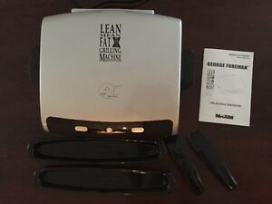 George Foreman - Lean Mean Fat Reducing Grilling Machine