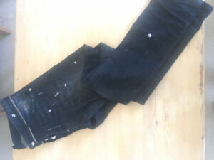 Dsquared men's jeans size 30 (made in ltaly) gray, blue & black