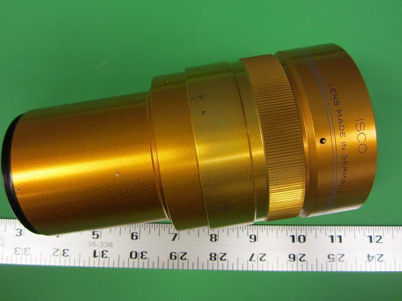 ISCO Ultra Star Cinemascope Attachment 35mm Cine Lens