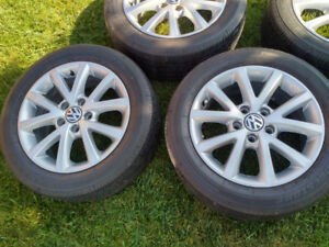 Original VW tires and rims
