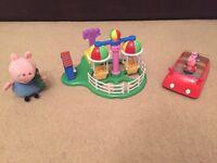 Peppa Pig Car Weeble Car George Ty Fun Fair