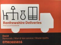 MAN AND VAN REMOVALS - sofa washing machines dishwashers tables beds
