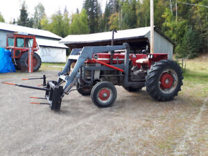 Massey 165 with atachments