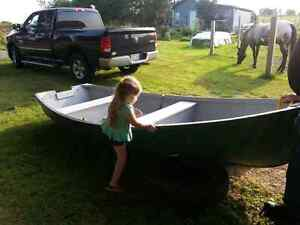 Rowboat / motor boat for sale