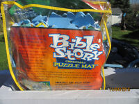 BIBLE STORY CHRISTMAS PUZZLE MAT - FLOOR SIZE