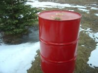 Metal Barrels - multiuse, storage, garbage burning for sale