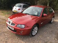 Rover 25 gxi automatic for sale in great condition