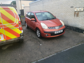 NISSAN NOTE 1.5 DCI DIESEL CHEAP TAX AND INSURANCE PX OR SWAP WHY