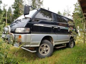 1992 Mitsubishi Delica Turbo Diesel 238,000km
