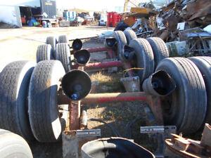 dump trailer axles