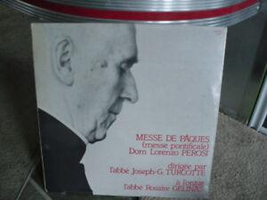 MESSE DE PÂQUES ( MESSE PONTIFICALE ) LP DISQUE VINYLE NEUF