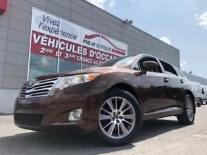Toyota Venza 4dr Wgn V6+CUIR+TOIT PANO+MAGS+WOW! 2011