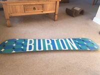Burton blender snowboard 145cm