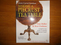 Making a Piecrust Tea Table Classic Carved Furniture Tom Heller