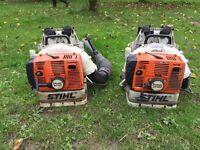 1 Stihl BR420 leaf blowers